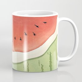 Fleshy Fruit (Watermelon) Coffee Mug