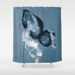Silent Dance Shower Curtain