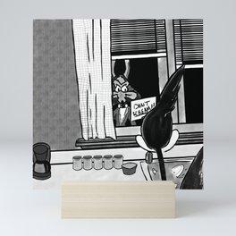 Shazam x Looney Tune Mini Art Print