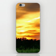 April East Texas Sunset iPhone Skin