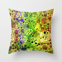 circles Throw Pillows featuring *Circles* by Mr and Mrs Quirynen