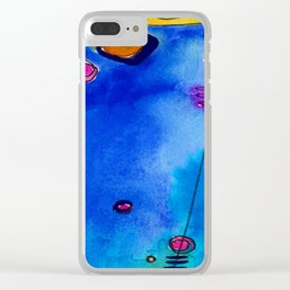 Magical Thinking No. 2C by Kathy Morton Stanion Clear iPhone Case