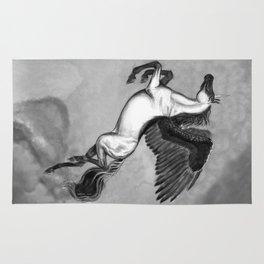 Pegasus Unicorn - Licorne Rug