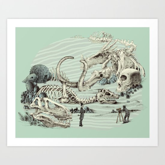 The Lost Beach Art Print