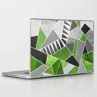 concrete Laptop & iPad Skins featuring Concrete Jungle by Elisabeth Fredriksson