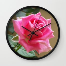 ROSY PINK Wall Clock