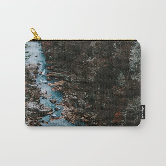 Blue Creek #landscape #society6 Carry-All Pouch