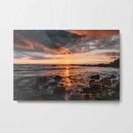 California Coast Paradise Metal Print