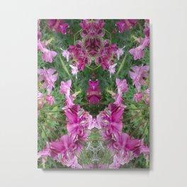 The Expert Gardener Metal Print