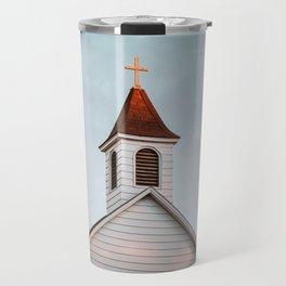 Former Wesleyan Methodist Church, Almont, North Dakota Travel Mug