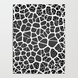 Abstract Neurons Network Poster