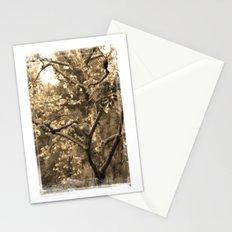 Tree of Hearts - Sepia Stationery Cards