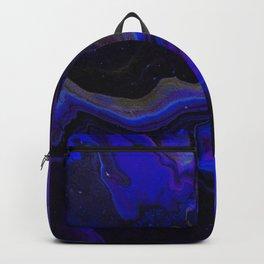 Dark Purple Blue Galaxy - Midnight Shades Backpack