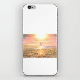 Sail dream iPhone Skin