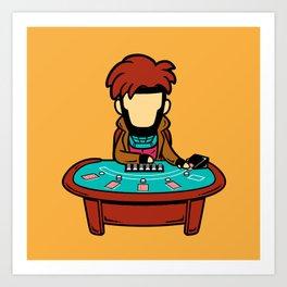 Part Time Job - Casino Art Print