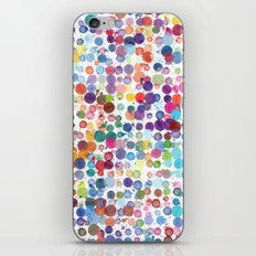 Watercolor Drops iPhone & iPod Skin