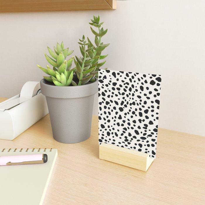 Polka Dots Dalmatian Spots Mini Art Print