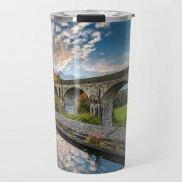 Chirk Aqueduct And Viaduct Travel Mug