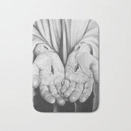 Jesus Hands Bath Mat