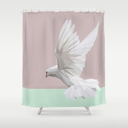 Dove Shower Curtain