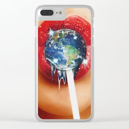 Taste Explosion Clear iPhone Case