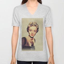 Carolyn Jones, Vintage Actress Unisex V-Neck