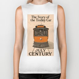 History of the Trolley car 1905 Biker Tank