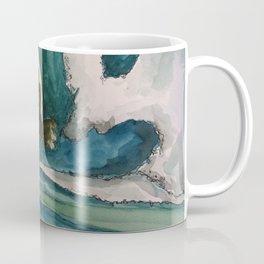 Watercolor Surfer Coffee Mug