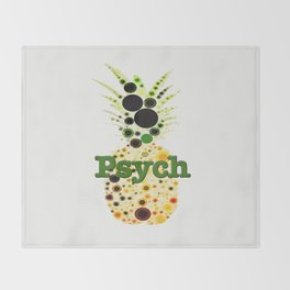 Pineapple Anyone? Throw Blanket