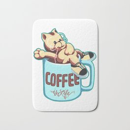 Coffee is Life Bath Mat