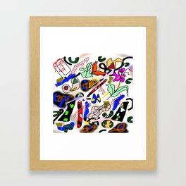 Somatic Integration Framed Art Print
