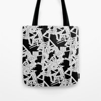 frames Tote Bags featuring Changing Frames by ValentinaFloraAngelucci