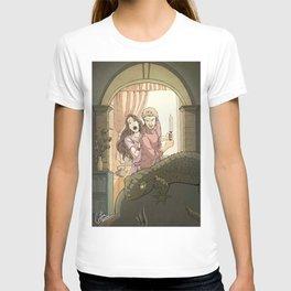 A modern St George T-shirt