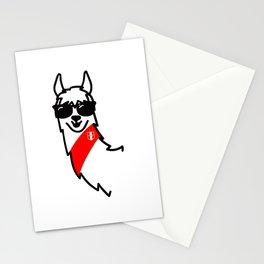 Llama Oficial Perú Stationery Cards