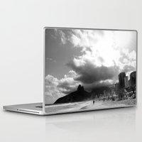 rio de janeiro Laptop & iPad Skins featuring High Rio de Janeiro by Bob Pestana