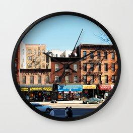 Americana - Harlem - Photo - New York Wall Clock