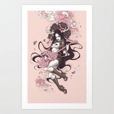 Lover of Music Art Print
