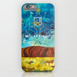The Great Southland iPhone Case