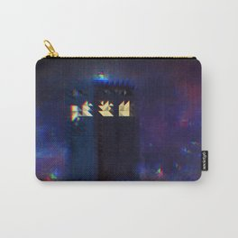Pixelated in Space and Time Carry-All Pouch