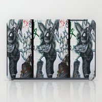 beast iPad Cases featuring Beast  by Ethna Gillespie