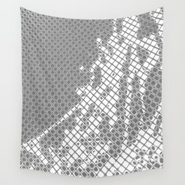 Screened Abstract Wall Tapestry