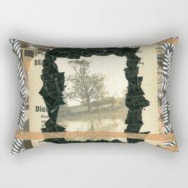 Dark Park Rectangular Pillow