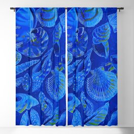 sea shells by the sea shore Blackout Curtain