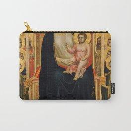 Giotto di Bondone - Ognissanti Madonna Carry-All Pouch