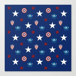 The Star Spangled Man With A Plan Canvas Print