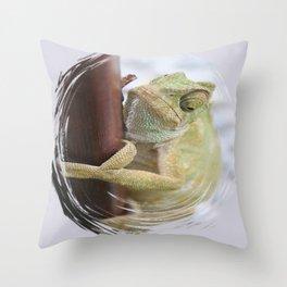 I'm A Bit Of A Chameleon Throw Pillow