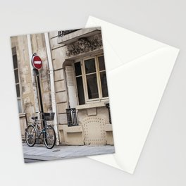 Parked at Ile Saint-Louis Stationery Cards