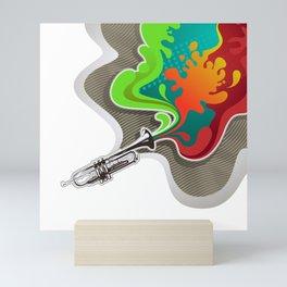 Magic Trumpet Mini Art Print