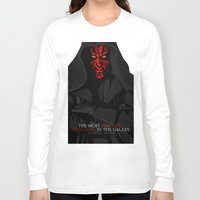 sith Long Sleeve T-shirts featuring sith lord by shizoy