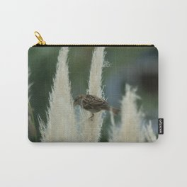 Sparrow Among Oats Carry-All Pouch